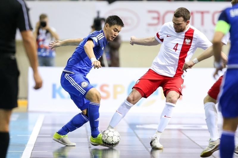 Обзор матча Казахстан - Польша 7:0 футзал