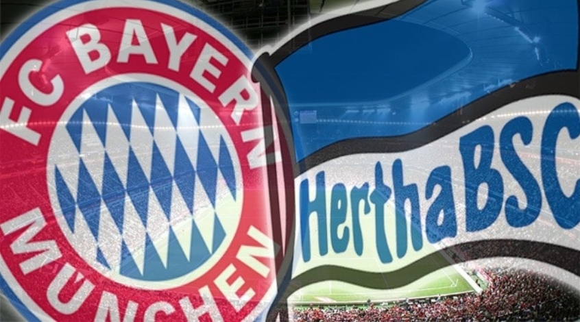 Онлайн трансляция матча Герта - Бавария смотреть онлайн 23.04.2016