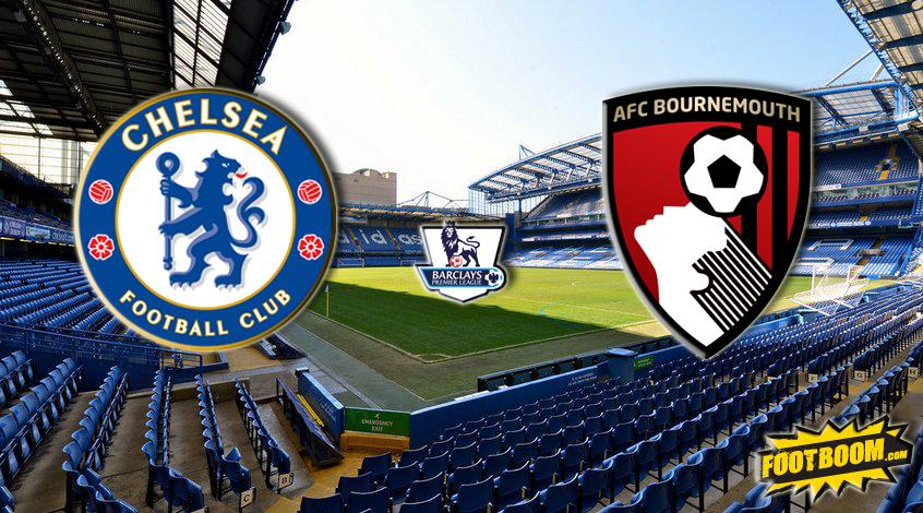 Смотреть онлайн прямую видео трансляцию матча Борнмут - Челси