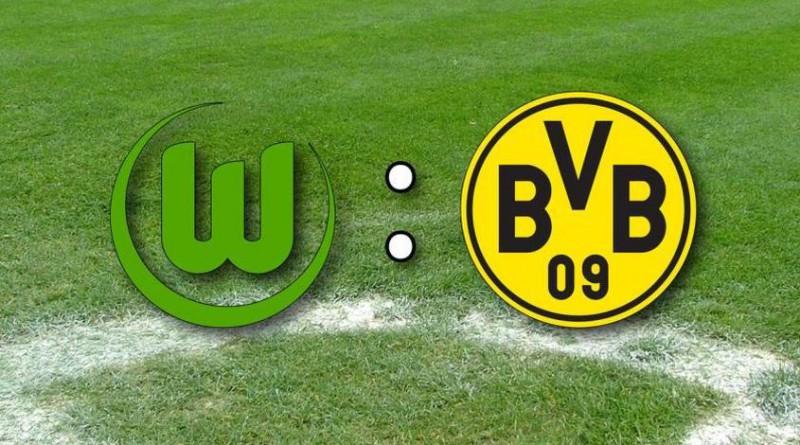 Обзор матча Вольфсбург - Боруссия Д 1-5