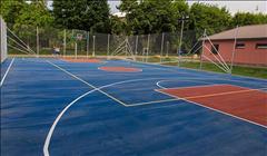 Баскетбольная площадка Алатау цена от 3500 тг на мкр.Шугыла д.50А